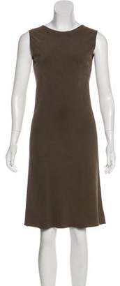 Calvin Klein Collection Silk Midi Dress
