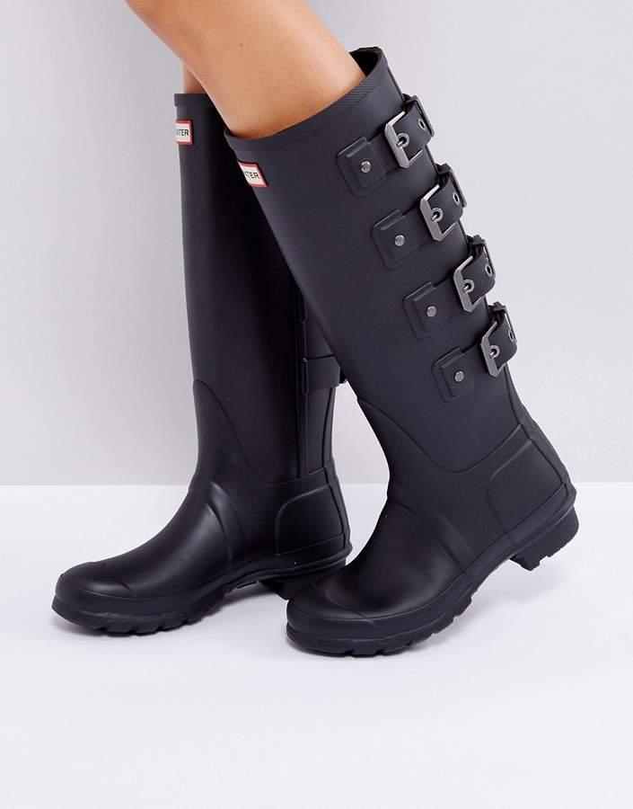 Hunter Original Tall Black Mercury Boot