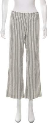 Magaschoni Mid-Rise Wide-Leg Pants