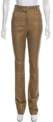 Chanel High-Rise Straight-Leg Jeans