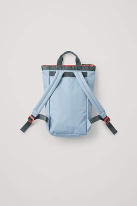 Cos COLOUR-BLOCK TOTE BACKPACK