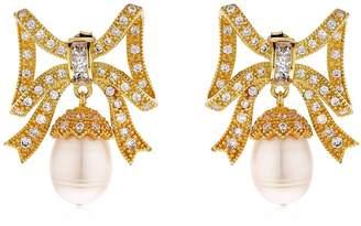 Marquise Baroque Pearl Earrings