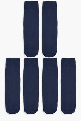 boohoo 60 Denier Knee High Socks 3 Pack