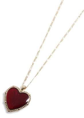 Topman Mens Gold Heart Necklace*