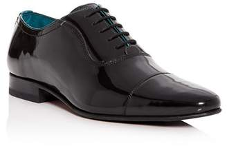 Ted Baker Men's Sharney Patent Leather Cap-Toe Oxfords
