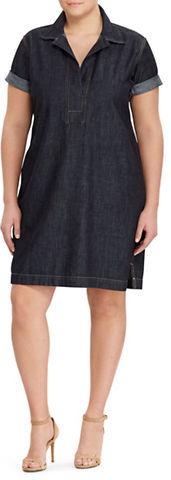 Lauren Ralph LaurenLauren Ralph Lauren Plus Denim Shift Dress