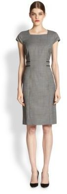 HUGO BOSS Dalusa Mini-Check Dress