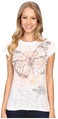 Life is good Not All Who Wander Are Lost Topnotch Tee $38 thestylecure.com