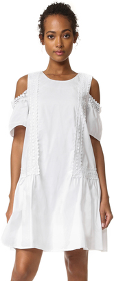Moon River Cold Shoulder Dress $80 thestylecure.com
