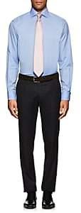 Eton MEN'S COTTON JACQUARD DRESS SHIRT-LT. BLUE SIZE 17 L