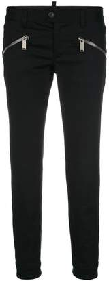DSQUARED2 zip embellished trousers