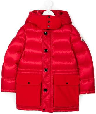 Moncler long padded coat
