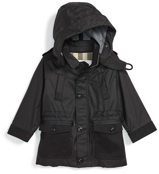 Burberry 'Mini Thenner' Hooded Jacket (Baby Boys) $365 thestylecure.com