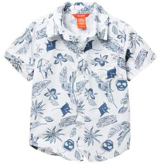 Joe Fresh Allover Print Woven Top (Little Boys)
