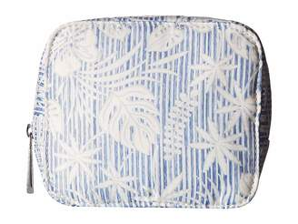Tommy Bahama Up In The Air Cosmetic w/ Eye Mask Cosmetic Case