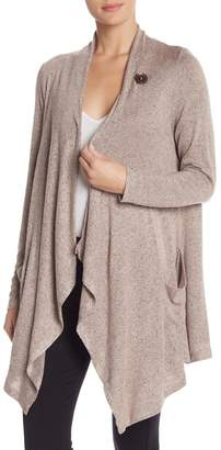 Bobeau French Terry Slub Cardigan