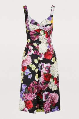 Dolce & Gabbana Hortensia midi dress