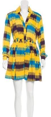 Thakoon Ikat Mini Dress
