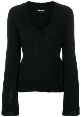Zadig & Voltaire V-neck sweater
