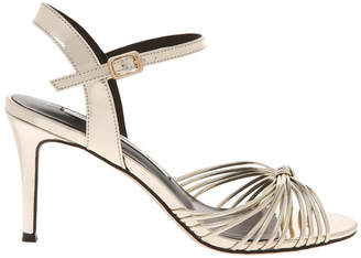 Havana Pale Gold Mirror Sandal