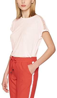 Only Women's Onlalessa S/s Mix Plain Top Ess T-Shirt,(Manufacturer Size: Large)