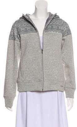 Patagonia Patterned Hooded Cardigan