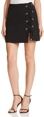 Rebecca Minkoff Stevia Lace-Up Detail Skirt