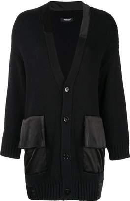 Undercover oversized black cardigan