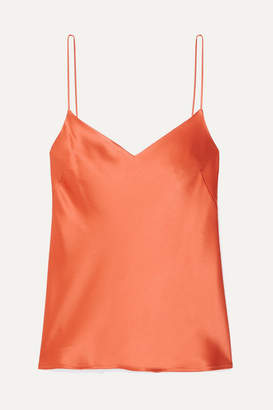 Galvan Satin Camisole - Orange