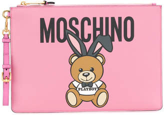Moschino Teddy Playboy clutch