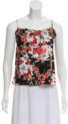 Rag & Bone Floral Print Sleeveless Top w/ Tags