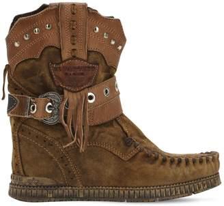 EL VAQUERO 70mm Claire Suede Boots