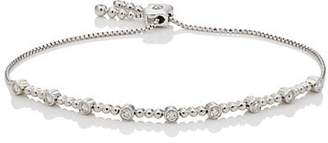 Sara Weinstock Women's Isadora Bezel Bolo Bracelet - Silver