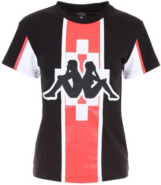 Marcelo Burlon County of Milan Kappa T-shirt With Embroidery