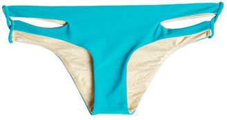 Luli Fama Bikini Bottoms with Cut Outs