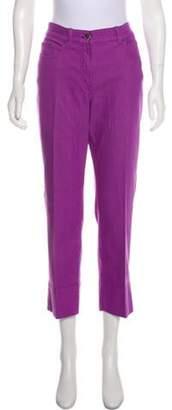 Loro Piana Mid-Rise Straight-Leg Jeans Purple Mid-Rise Straight-Leg Jeans