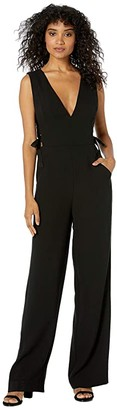 BCBGMAXAZRIA Lace-Up Side Jumpsuit