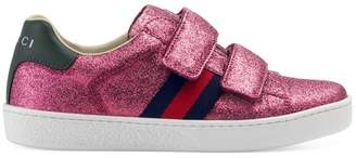 Gucci Children's GG fawns sneaker with Web