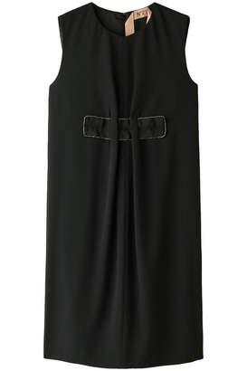 N°21 (ヌメロ ヴェントゥーノ) - ヌメロ ヴェントゥーノ ラインストーン付きノースリーブドレス