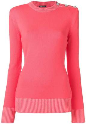 Balmain padded shoulder jumper