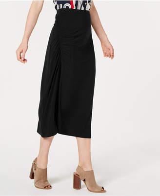 Tommy Hilfiger Side-Ruched Skirt