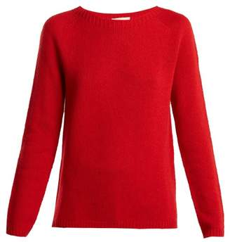 Max Mara S Relaxed Fit Cashmere Sweater - Womens - Red
