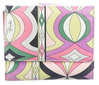 Emilio Pucci Printed Compact Wallet