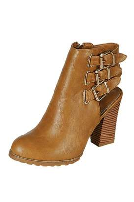 Refresh Buckle-Up Booties $40 thestylecure.com