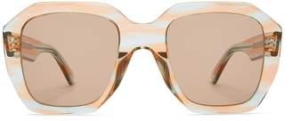 Celine Oversized acetate sunglasses