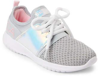 Nautica Kids Girls) Silver Kappil Jogger Sneakers