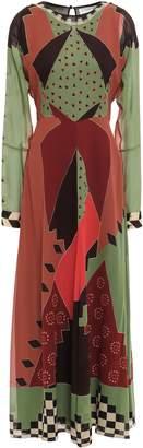 Etro Printed Silk-georgette Maxi Dress