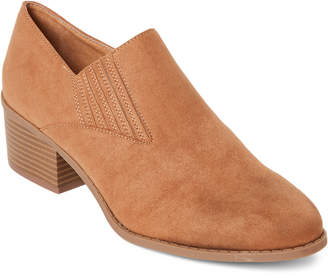 Madden-Girl Tan Faux Suede Bruin Western Booties