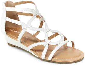Women's Esprit Carmen Gladiator Sandal -White $39 thestylecure.com