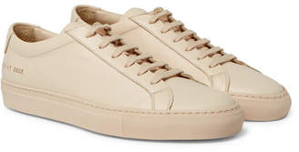 Common Projects Original Achilles Leather Sneakers - Men - Sand